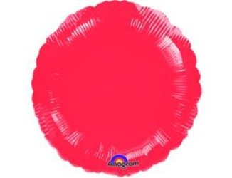18''(45см) б рис круг  металлик red