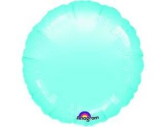 18''(45см) б рис круг  пастель blue