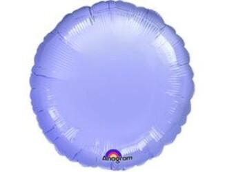 Шар 18'' (45см)  круг пастель lilac