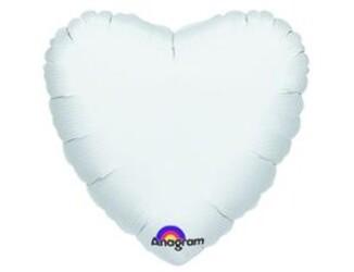 18''(45см) б рис сердце  пастель