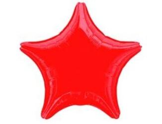 19''(48см) б рис звезда  металлик red