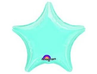 19''(48см) б рис звезда  пастель blue