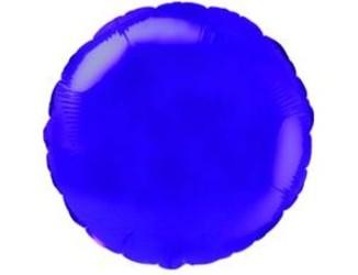 Шар 18'' (45см)  круг металлик б рис   металлик violet fm