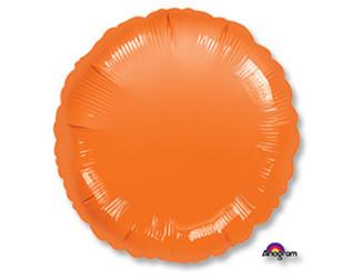 18''(45см) б рис круг  металлик orange