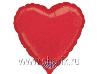 18''(45см) б рис блеск сердце