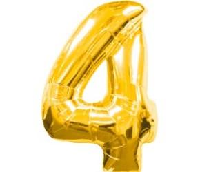 Шар 40'' (106см)  цифра gold