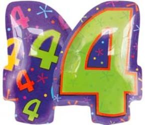 40''(106см) цифра  фигура мульти
