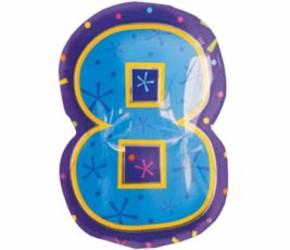 Шар 40'' (106см)  цифра   фигура мульти