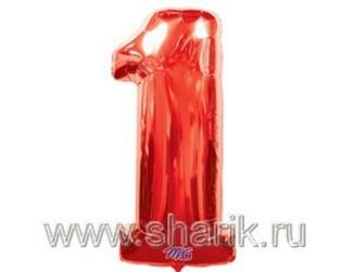40''(106см) цифра 1 red