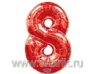 40''(106см) цифра 8 red