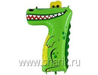 36''(91см) цифра   крокодил