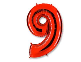 40''(106см) цифра 9 40  red