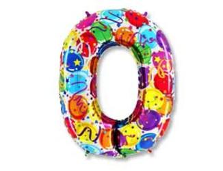 40''(106см) цифра   шары