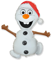 Шар 32'' (81см)  фигура     снеговик