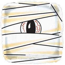 Шар 18'' (45см)  квадрат     мумия белый