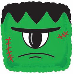 Шар 18'' (45см)  квадрат     монстр зеленый