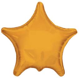 Шар 22'' (55см)  звезда