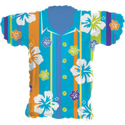31''(78см) шар   фигура гавайская рубашка