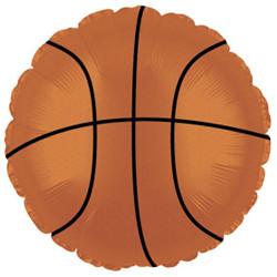 Шар 18'' (45см)  круг     баскетбольный мяч коричневый