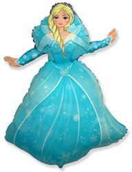 Шар 39'' (99см)  фигура     снежная королева