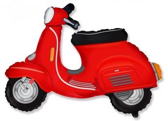 Шар 29'' (72см)  фигура     скутер красный