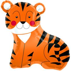 Шар 33'' (83см)  фигура     тигр оранжевый