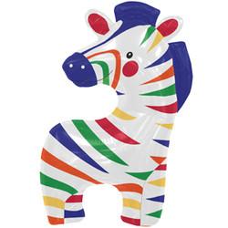 35''(88см) шар   фигура зебра