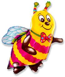 Шар 39'' (99см)  фигура     пчела