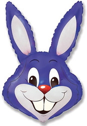 40''(106см) шар   фигура заяц фиолетовый