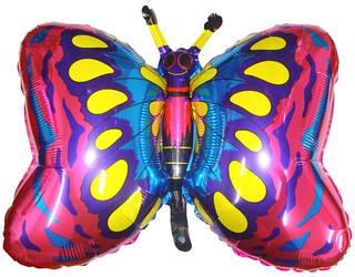 35''(88см) шар   фигура бабочка фуше