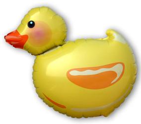 Шар 30'' (76см)  фигура     утка желтый