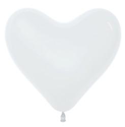 Шар 14'' (36см)  сердце     пастель