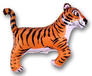 37''(93см) шар   фигура тигр черный