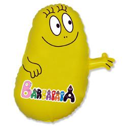 Шар 32'' (81см)  фигура     барбидур желтый