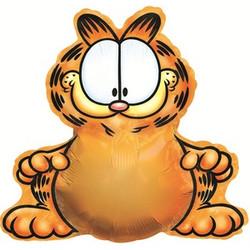 Шар 37'' (93см)  фигура     гарфилд оранжевый