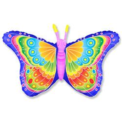Шар 32'' (81см)  фигура     бабочка кокетка фуше