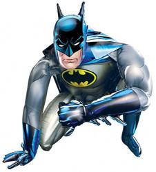 Шар 37'' (93см)  ходячая фигура     бэтмен в упаковке