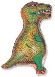 32''(81см) шар   фигура динозавр зеленый