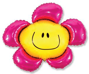 Шар 41'' (104см)  фигура     солнечная улыбка фуше