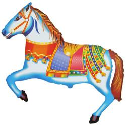Шар 41'' (104см)  фигура     лошадь цирковая