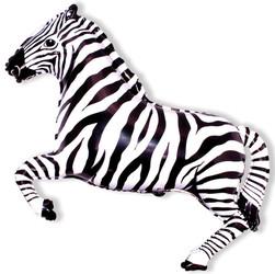 41''(104см) шар   фигура зебра черный