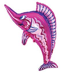 38''(96см) шар   фигура рыба-меч фуше