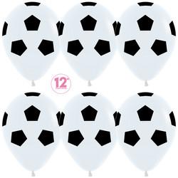 Шар 14'' (36см)     футбольный мяч   пастель