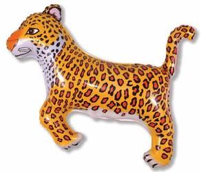 37''(93см) шар   фигура леопард черный