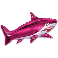 40''(106см) шар   фигура страшная акула фуше