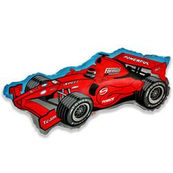 Шар 36'' (91см)  фигура     формула  красный