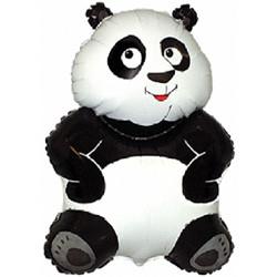 33''(83см) шар   фигура большая панда белый