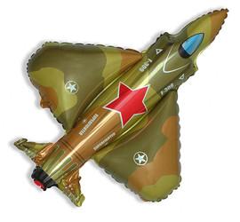32''(81см) шар   фигура истребитель военный