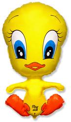 Шар 32'' (81см)  фигура     утенок желтый