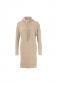 Jersey dress hooded